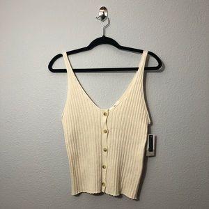 NWT BP Sweater Tank Top
